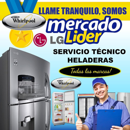 service heladera carga gas aire reparacion comerciales tecni