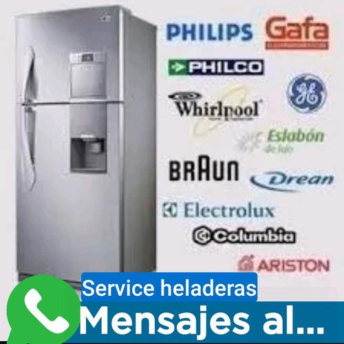 service heladera tecnico carga gas domicilio reparacion gafa