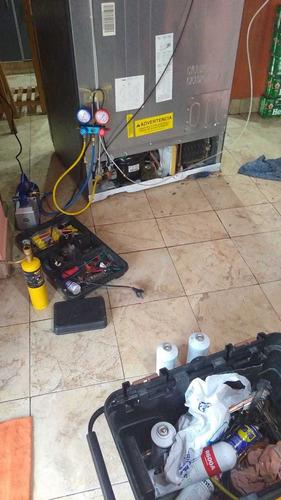 service heladera tecnico carga gas reparacion a domicilio