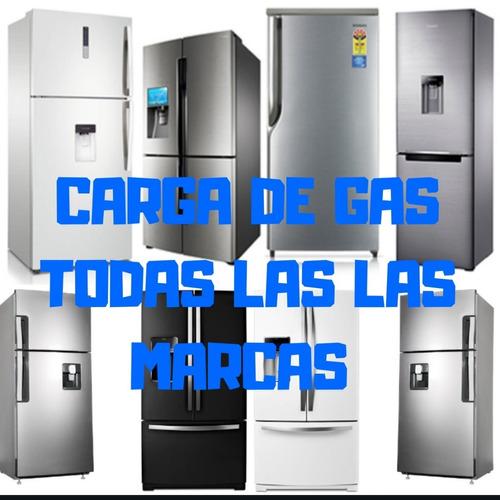 service heladeras carga de gas reparacion aire tecnico