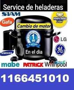 service heladeras carga gas aire patrick gafa electrolux ge