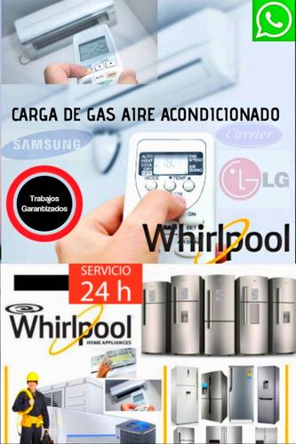 service heladeras carga gas aire tecnico reparacion gafa 1