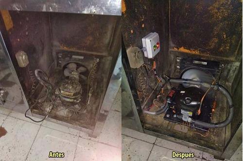 service heladeras comerciales carga gas reparacion camaras
