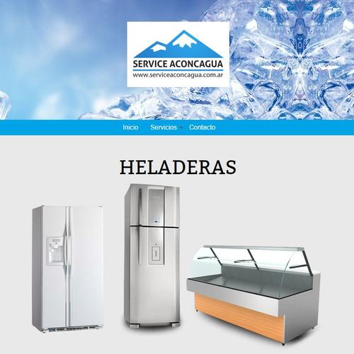 service heladeras lavarropas aire acondicionado calefaccion
