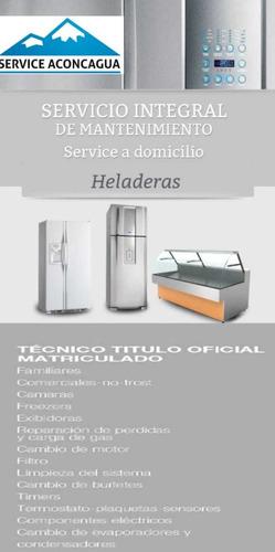 service heladeras lavarropas aire acondicionado calefacción