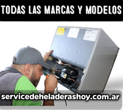 service heladeras técnico carga gas  munro olivos martinez