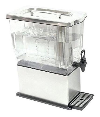 service ideas cbdt3ss dispensador rectangular de bebidas fri
