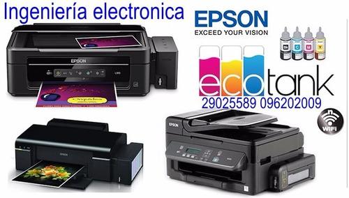 service impresoras todas las marcas epson brother canon
