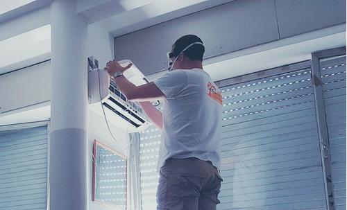 service instalacion aire acondicionado electricidad