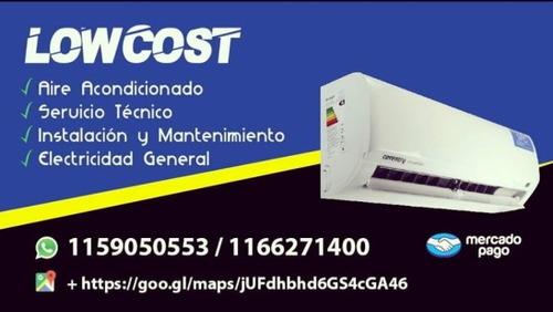 service instalación aire acondicionado y lavarropas low cost