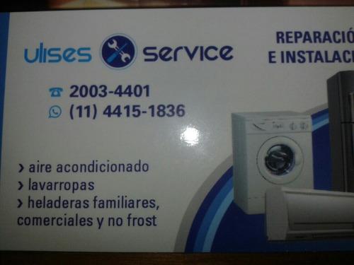 service lavarropas, heladeras, aire acondicionados