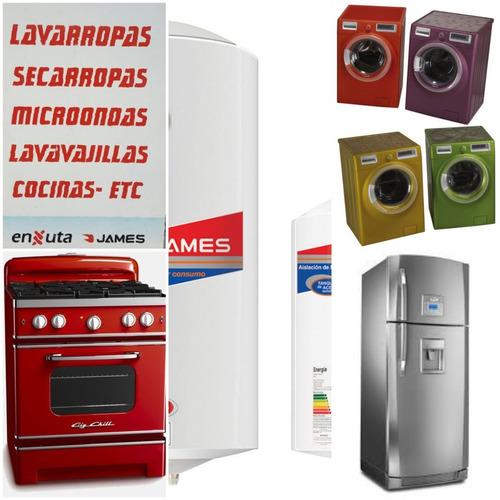 service lavarropas reparación instalación heladeras técnicos