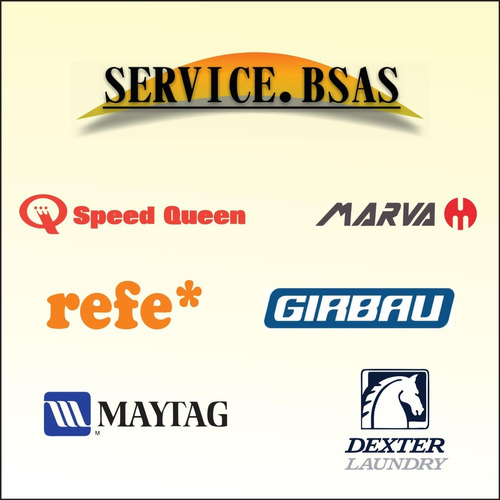 service lavarropas y secarropas industriales. automatización