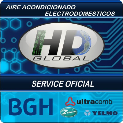 service oficial aire y electro: bgh, ultracomb, zenith, yelm