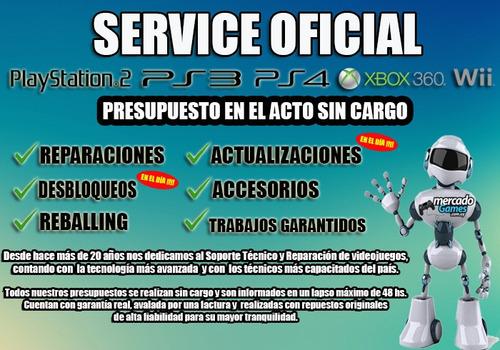 service oficial videojuegos consolas xbox, ps2, ps3, ps4