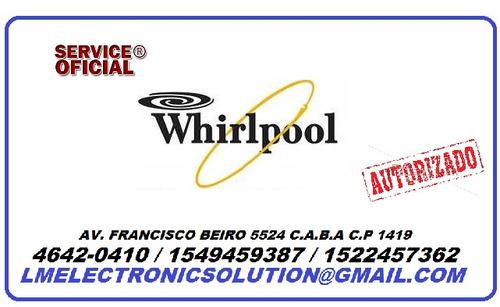 service oficial whirlpool-reparacion de plaquetas