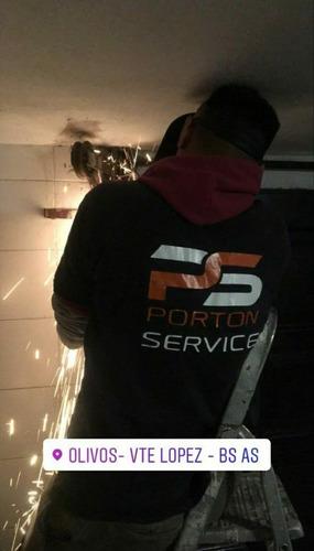 service portones automáticos reparación