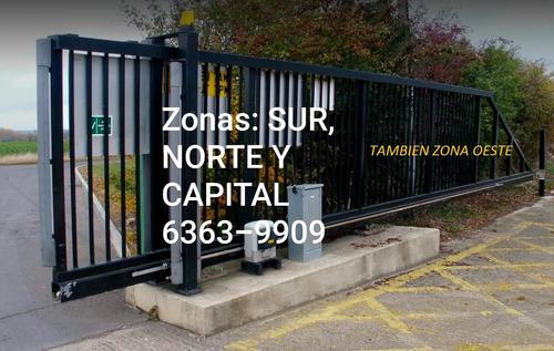 service portones automaticos reparacion lomas zona sur norte