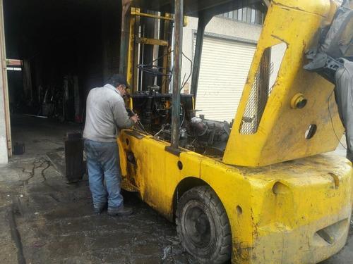 service reparacion autoelevadores yale clark
