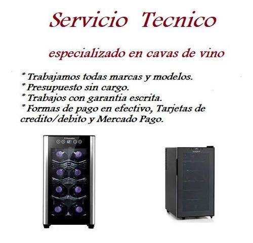 service - reparación cavas de vinos ( todas las marcas ).
