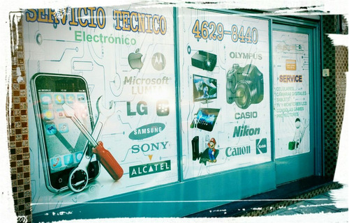 service reparación de celulares - morón - presu. sin cargo