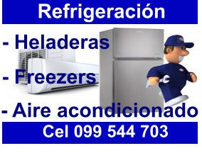 service ,reparación de heladeras, refrigeración en gral