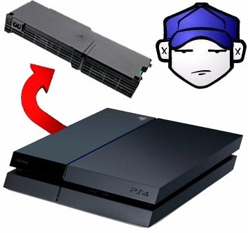service reparacion fuente ps4 playstation 4 play4 garantia