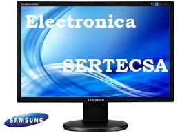 service reparación monitores lcd lg samsung  m lider!!