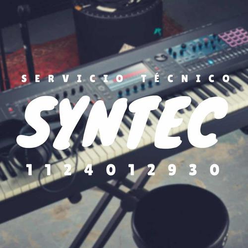 service reparacion teclados pianos eléctricos sintetizadores