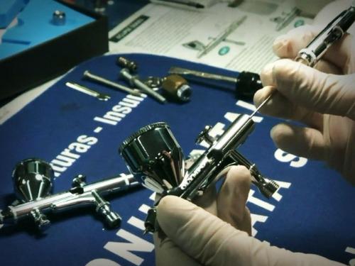 service , reparación y mantenimiento de aerógrafos