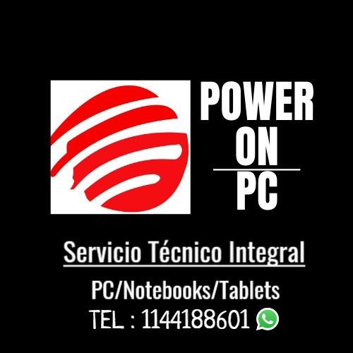 service tecnico de pcs/notebooks/wifi/instalaciones