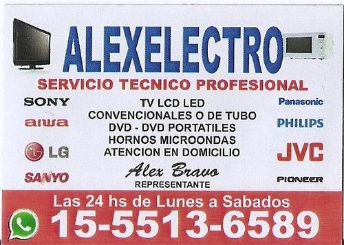 service tv a domicilio reparacion led-lcd-tubo-cambio leds