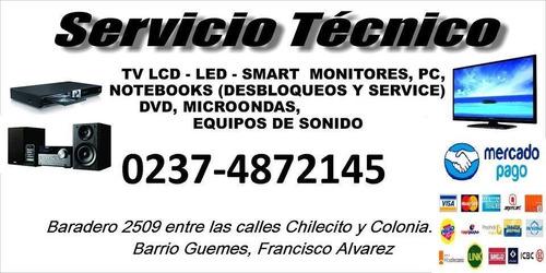 service tv audio video microondas lcd led smart tv