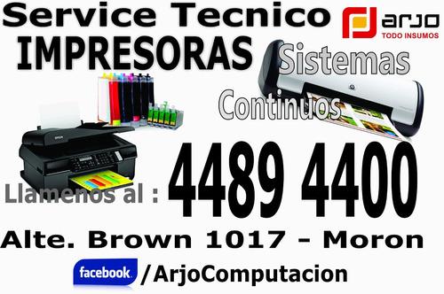 service y reparacion de impresoras