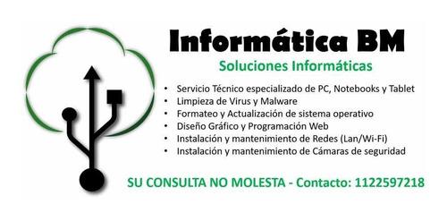 service y reparacion de pc y notebooks