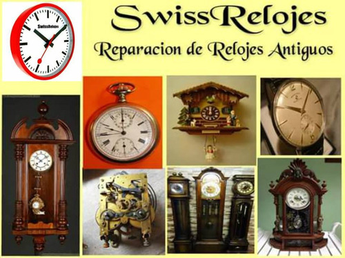 service y reparacion integral de todo tipo de relojes