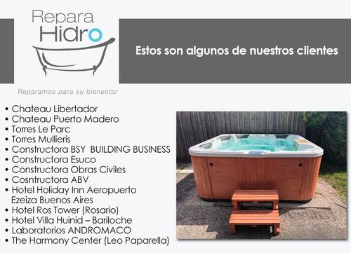 service y reparación : jacuzzis, hidromasajes,bañeras,saunas