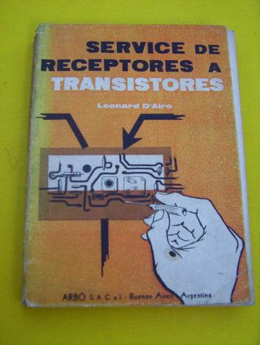 service,receptores,transistores,l.d airo,arbo-est/ muy bueno