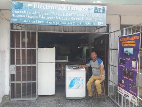 servicio a domicilio técnico refrigeradora secadora lavadora