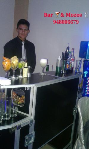 servicio a1 - barman y mozos