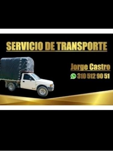 servicio acarreos transporte