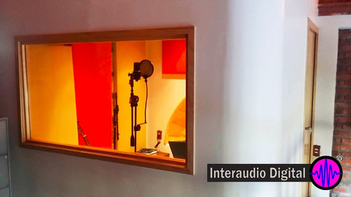 servicio aislante  ventanas acusticas antirruido cntrolroom