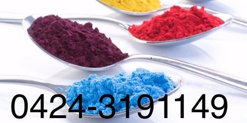 servicio alimenticio tecnico color pigmento colorante azul