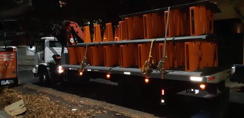 servicio alquiler camión c/hidrogrua fletes, montaje, izajes