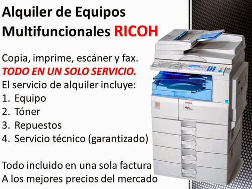 servicio-alquiler-ventas copiadoras ricoh
