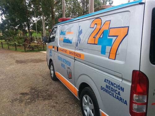 servicio ambulancia caracas maracay barquisimeto y maracaibo