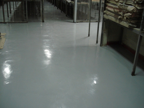servicio aplicación pintura epoxica, pisos epoxico