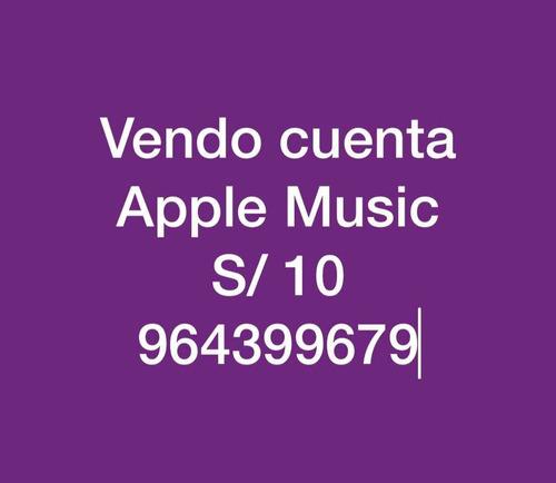 servicio apple music