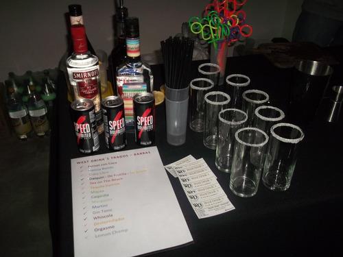 servicio barman, eventos