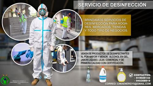 servicio cámara termográfica flir e5 / serv. de desinfección